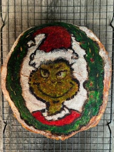 Painted Grinch