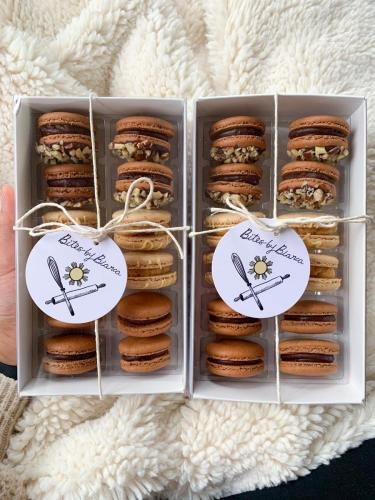 Packaged French Macarons